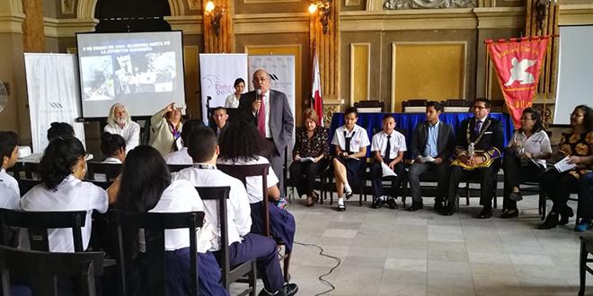 Fundamorgan colaboró en la realización del taller Juventud por los Derechos Humanos en el Instituto Nacional