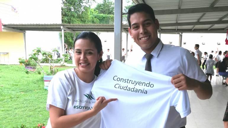 Fundamorgan felicita a Diomedes Santos, ganador del primer lugar del Concurso Nacional de Oratoria