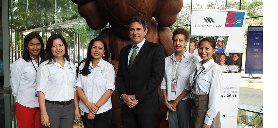 Fundamorgan realizó exposición con jóvenes beneficiarios de su programa Ciudadanía Responsable