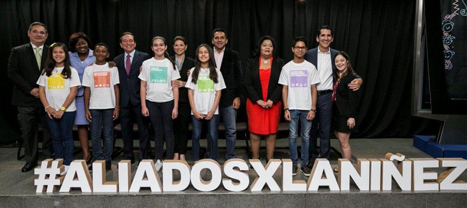 Fundamorgan participó de la firma de compromiso por la niñez y la adolescencia panameña