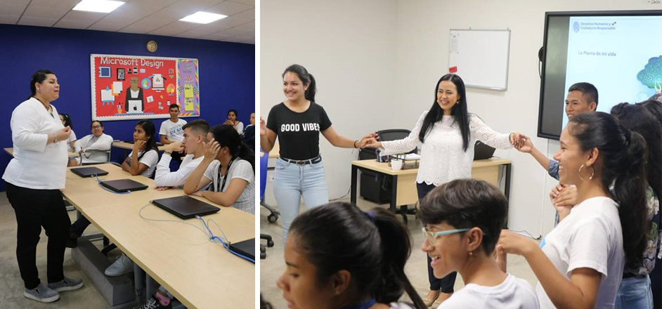 Talleres del Programa de Ciudadanía Responsable en Centros ¡Supérate! Fundación Alberto Motta