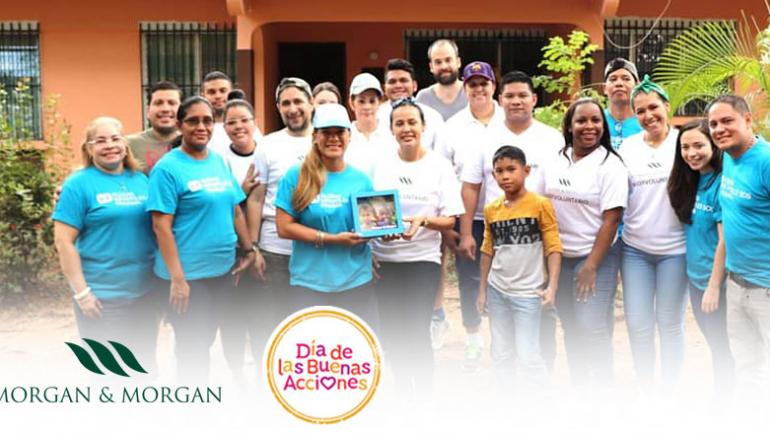 """Morgan & Morgan y Fundamorgan lanzan el """"Reto Solidario"""""""