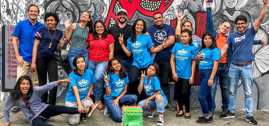 Talleres de mentoría con jóvenes de la Fundación Transición a la Vida