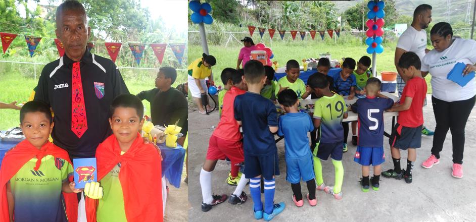 Escuela Deportiva Centenario agasaja a los padres