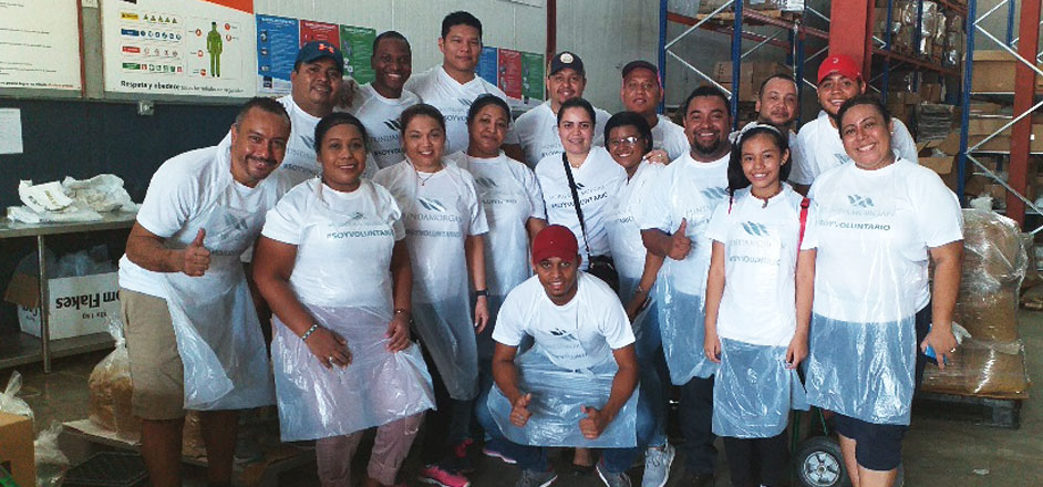 Equipo del departamento de Contabilidad se suma al Reto Solidario