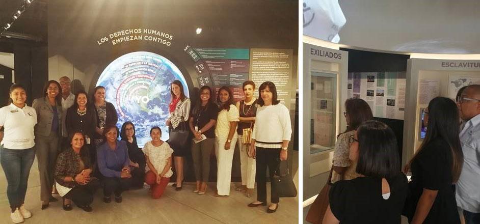 Visita al Museo de la Libertad y los Derechos Humanos