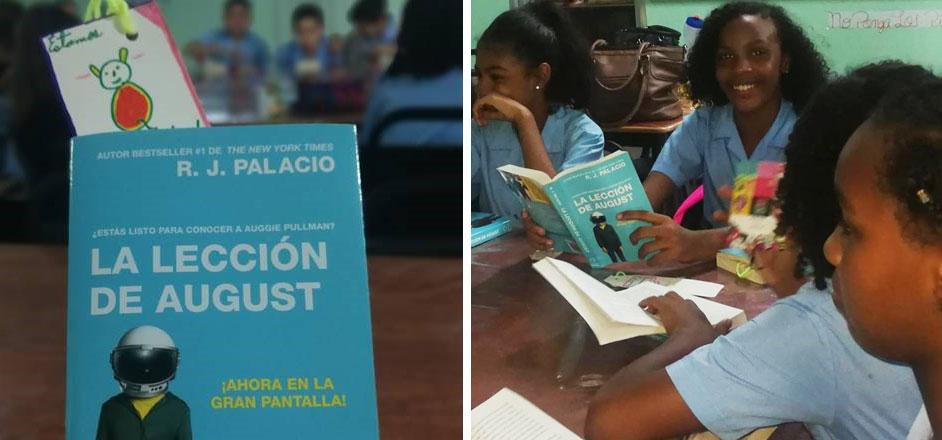Fundamorgan inaugura Club de Lectura en el Colegio Elena Ch. de Pinate