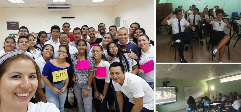 Talleres de Ciudadanía Responsable en Centro ¡Supérate! Jupá, Colegio Elena Ch. de Pinate y Centro Educativo Guillermo Endara Galimany.