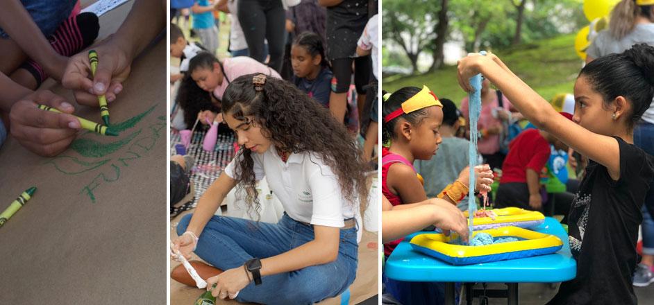 Fundamorgan celebró el Día Nacional del Niño y la Niña