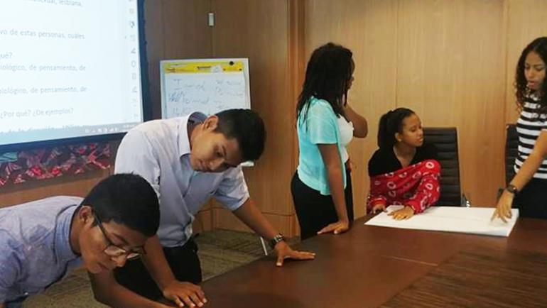 Fundamorgan dicta taller sobre Relaciones Sanas y Diversidad