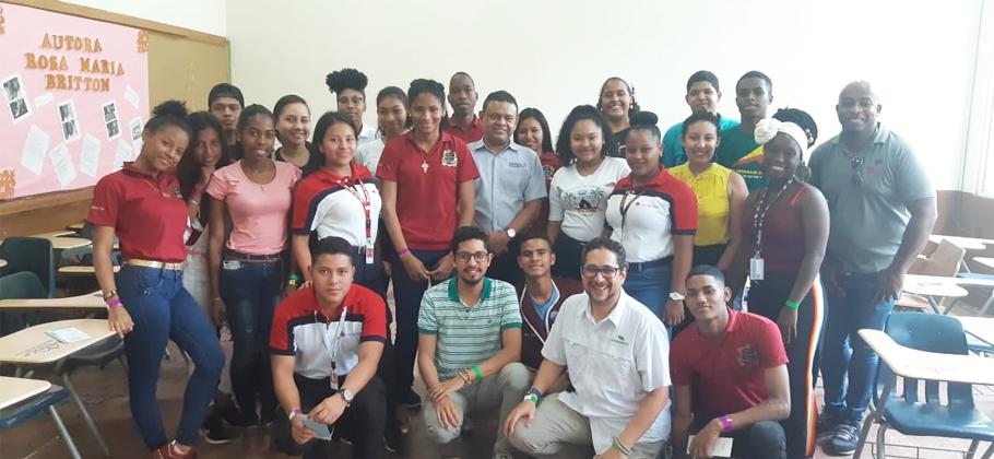 Fundamorgan facilita talleres en colegios de la provincia de Colón