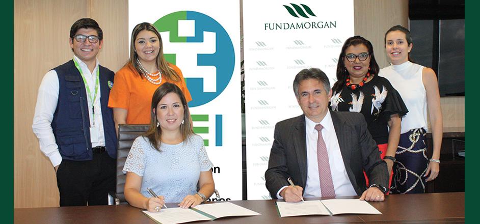 Fundamorgan y OEI firman acuerdo de colaboración