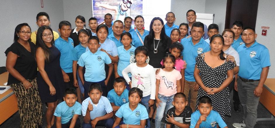 Fundamorgan recibe a niños y niñas de la Comarca Ngäbe-Buglé