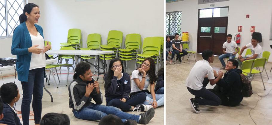 Fundamorgan realiza taller sobre prevención del Bullying en La Chorrera