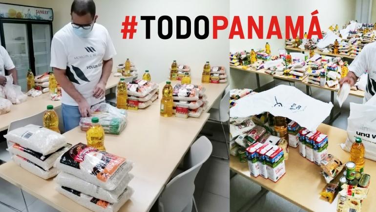 Apoyo a #TodoPanamá con voluntarios