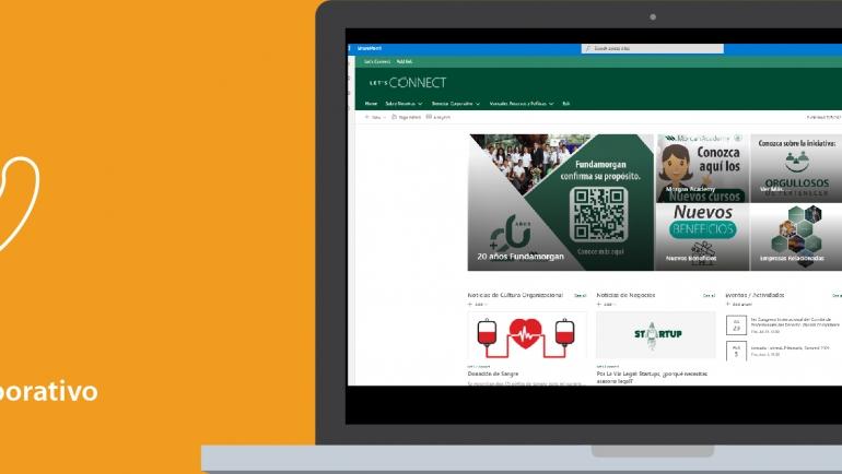 """Nueva herramienta de comunicación interna """"Let´s Connect"""""""