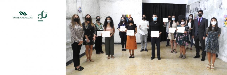 """Presentación de los ganadores del Concurso """"Desafíos de la juventud en tiempos de pandemia: derechos humanos y participación ciudadana"""", en alianza con el Museo de Arte Contemporáneo."""