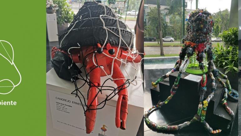 """Exposición de obras ganadoras del Concurso """"Reciclar es Cultura"""""""